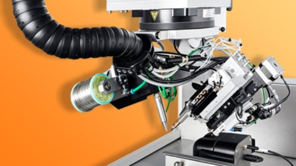 Kolbenlötmodul für den Sensitive Wire Feeder von Eutect.