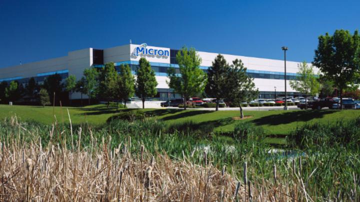 Der Firmensitz von Micron in Boise, Idaho
