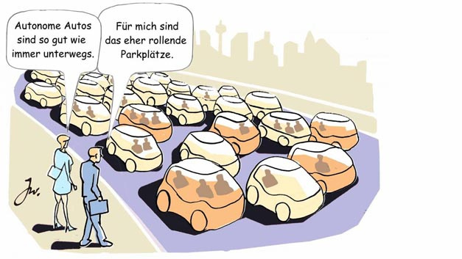 Ab in den Stau? Ohne Regulierungen droht ab 2035 der Verkehrscollaps – das ergab die Studie »Urbane Mobilität im Jahr 2035« von Deloitte.