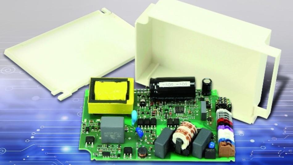 Dank Ripplecancelation arbeitet der 80-Watt-Singlestage-Resonanzwandler PSU-0251-08 im Strommodus ripplefree