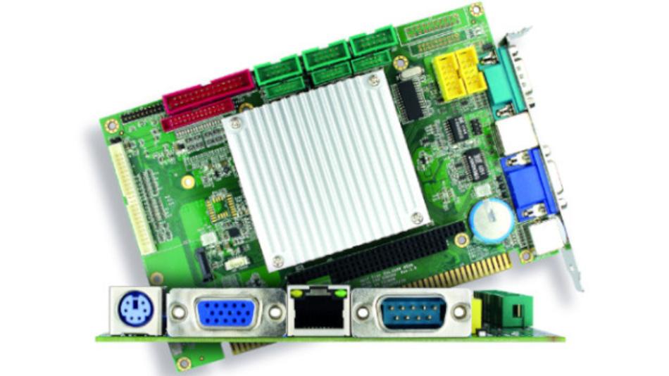 Die Slot-CPU VDX3-6724 ist vor allem für Retrofit-Anwendungen geeignet.