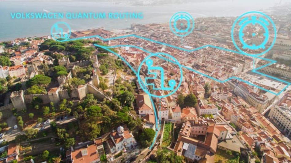 Volkswagen Konzern startet in Lissabon weltweit erstes Pilotprojekt zur Verkehrsoptimierung mit einem Quantencomputer von D-Wave.