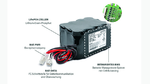 LiFePO4-Batteriepack BP-LFP von Bicker Elektronik mit integriertem BMS.