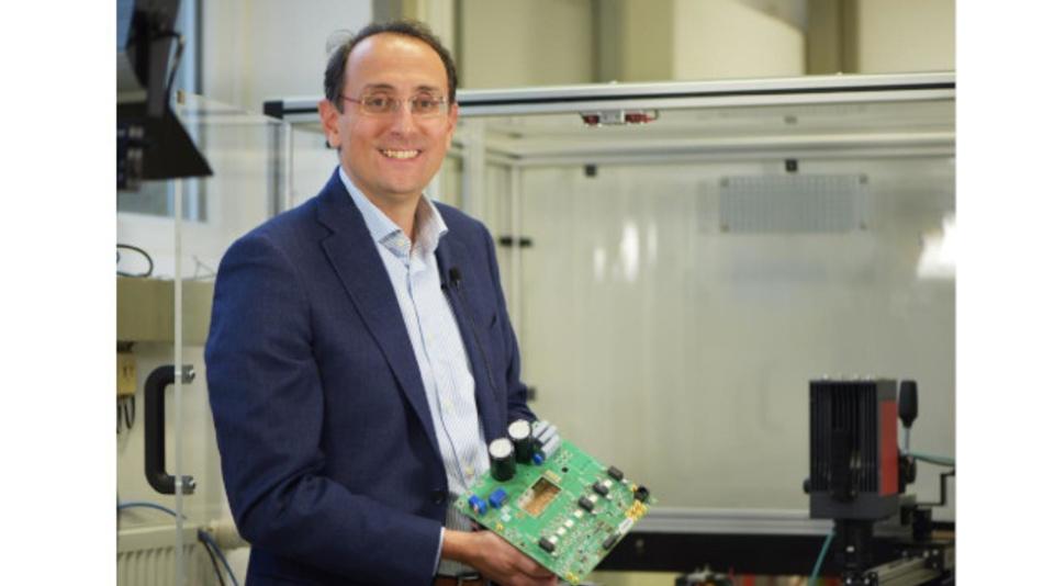 Marco Liserre hat mit seinem Team einen modular aufgebauten, intelligenten Transformator entwickelt.