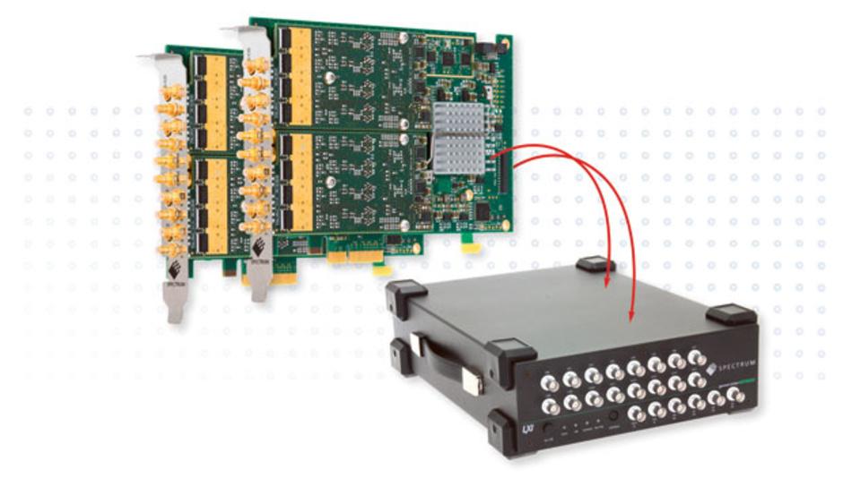 Die neue Arbiträr-Gerätegeneration mit LXI-Standard und mehr Kanälen vereinfacht den Aufbau mit komplexen Testabläufen im Standard-Ethernet.