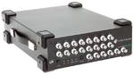 Das maximal ausgebaute Modell DN2.656-16 bietet 16 synchrone AWG-Ausgänge, die Signale mit bis zu 80 MS/s parallel ausgeben. Bei Nutzung von nur acht Kanälen steigt die Ausgaberate auf 125 MS/s