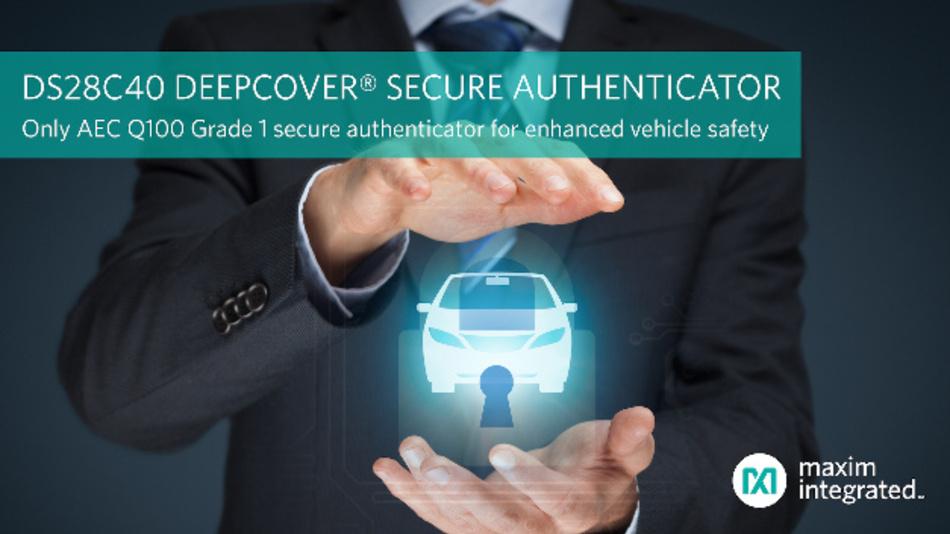 Der Authenticator ermöglicht eine sichere Speicherung von ECDSA- und SHA-256-Schlüsseln.
