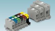 Mit den neuen Al/Cu-Klemmen UBAL von Phoenix Contact lassen sich alle üblichen Leiterarten sicher installieren.