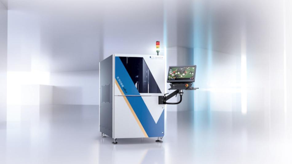 Automatische optische Systeme wie die S3088 ultra gold von Viscom können u.a. sehr sicher erkennen, ob Steckverbinder wie der Zero8 einwandfrei positioniert und gelötet sind.