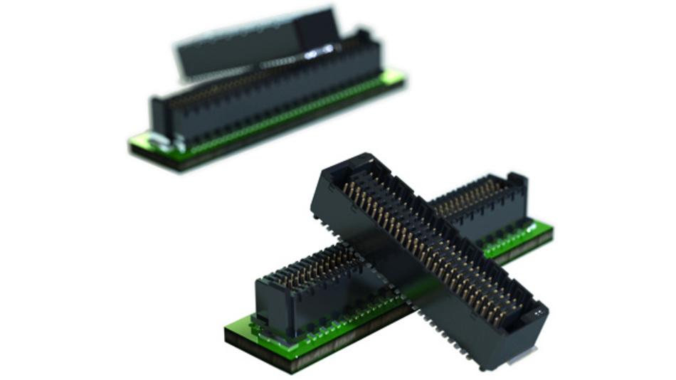 Der ungeschirmte Zero8: Ein schwarzer Isolierkörper und silberne Kontakte eignen sich ideal für eine automatische optische Inspektion.