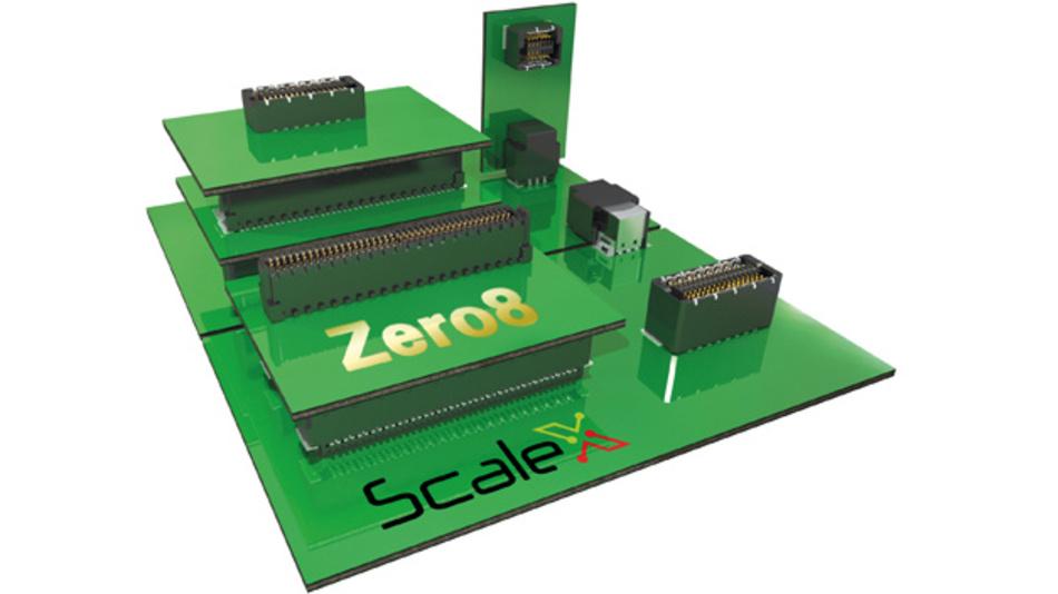 Die Steckverbinderfamilie Zero8 mit ScaleX