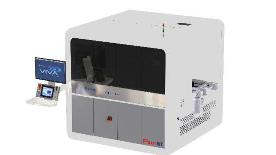 In der Maximalkonfiguration mit vier Flying-Probe-Köpfen führt der Pilot BT parallel Kelvin-Tests von 16 Zellen auf einmal durch und erreicht dabei Produktionsraten von fast 2400 Batteriezellen pro Minute