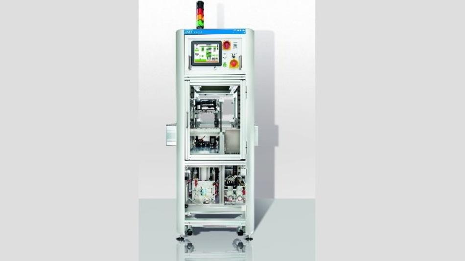 Die Inline-Teststation ITS 115 von CGS ist das kompakteste Einkopf-Prüfsystem.