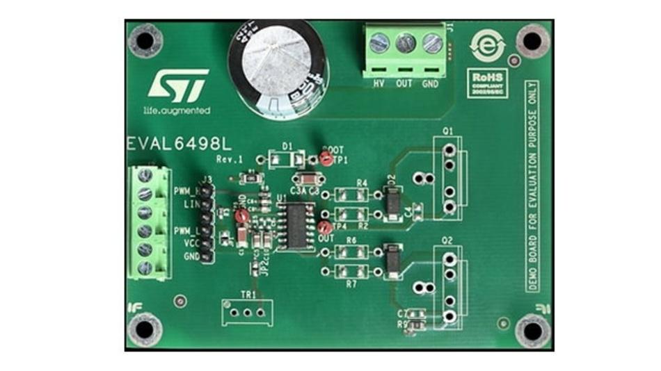 Abbildung 10: Das ST Micro-Electronics EVAL6498L war das Testumfeld für dieses Beispiel.