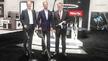 Sie tragen die Verantwortung für die geplanten Kurs des Familienunternehmens: Die Miele-Geschäftsführer Dr. Markus Miele, Dr. Axel Kniehl und Dr. Reinhard Zinkmann (v.l.), hier zu sehen auf der Miele-Pressekonferenz zur IFA 2019.