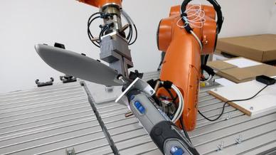 Kooperierende Roboter
