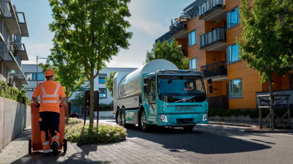Volvo startet den Verkauf der E-Trucks FL Electric und FE Electric.