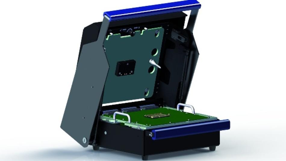 Funktionstest, In-Circuit-Test, Programmierung - dank des modularen Konzepts ist der Prüfadapter Y-ETI von Yamaichi Electronics für alle Testgegebenheiten gerüstet.