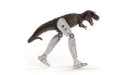 Dinosaurier und Roboterbein