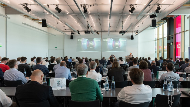 The audience of the Embedded Vision Europe 2019 Conference