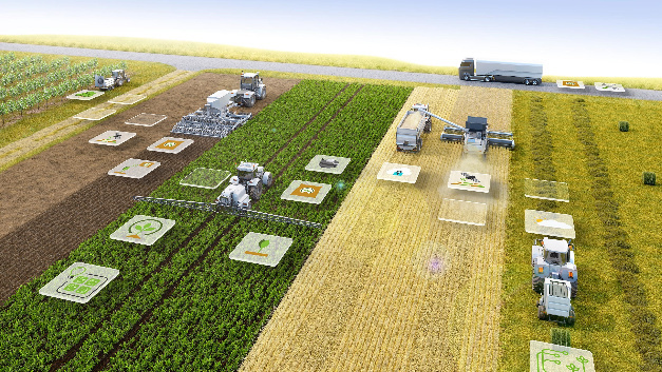 Mit NEVONEX gründet Bosch zusammen mit derzeit acht Partnern ein offenes und herstellerunabhängiges digitales Ökosystem für die Landwirtschaft, das die Ausführung von digitalen Services direkt auf Landmaschinen erlaubt.