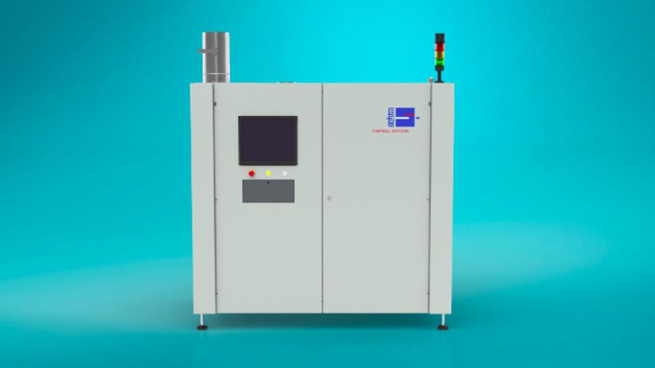 Für das Aushärten von UV-Lacken und -Klebern bei sehr kurzen Taktzeiten: UV-Trockner RDS von Rehm.