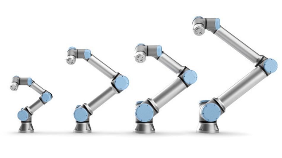 Auch für KMUs interessant: kollaborierende Roboter für den Einsatz in der Elektronikproduktion.