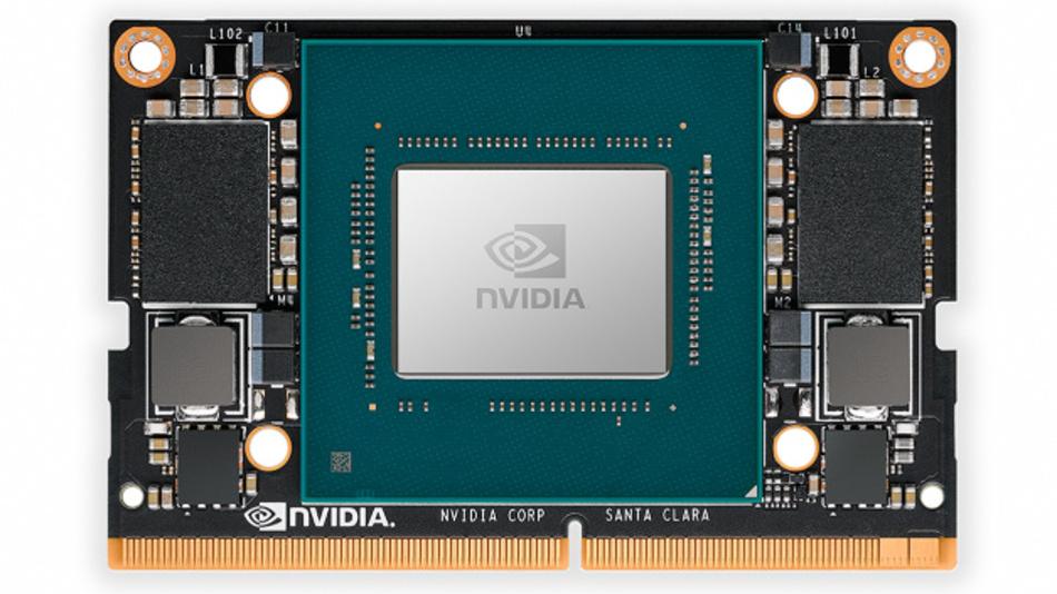 Kleinster Supercomputer am Edge: der »Jetson Xavier NX« von Nvidia.