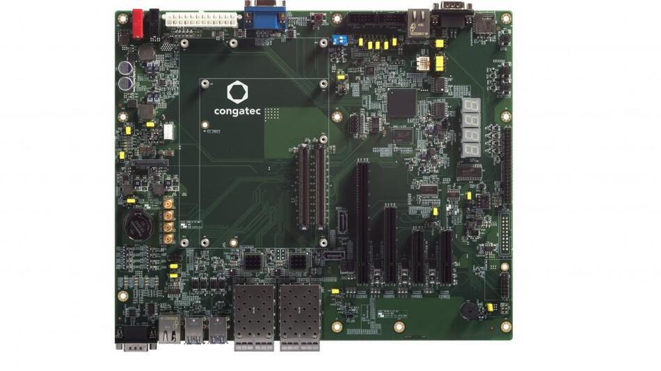 Bild 2b. ...sowie das »conga-X7EVAL« für alle COM-Express-Funktionen als Basis für kundenspezifische Designs.