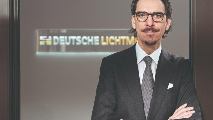 Alexander Hahn, Gründer und CEO der Deutsche Lichtmiete Unternehmensgruppe