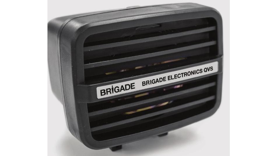 Dsa Mehrfrequenz-Tonwarnsystem QVS von Brigade Elektronik.