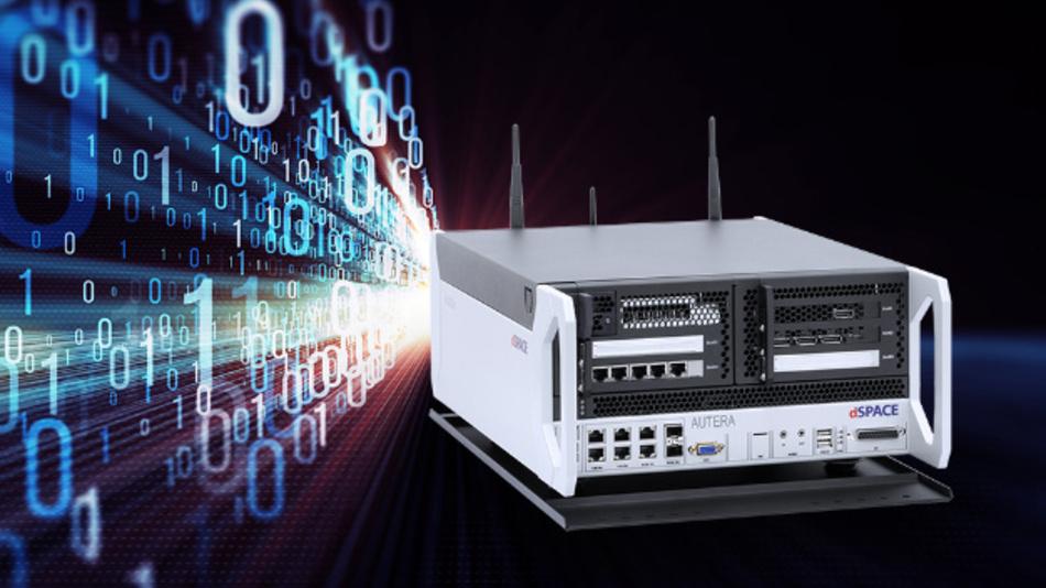Mit der »Autera AutoBox« von dSpace kann der Entwickler umfangreiche Datenmengen aufzeichnen.