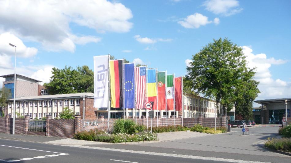 Der Standort von Preh in Bad Neustadt an der Saale.