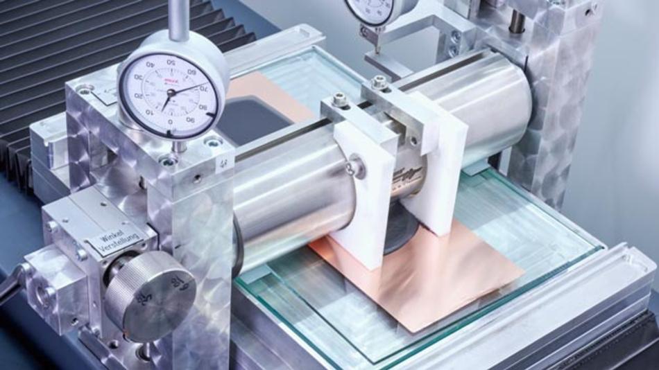 Blick in das Batterielabors des neu eröffneten Kompetenzzentrums Batteriezelle von BMW