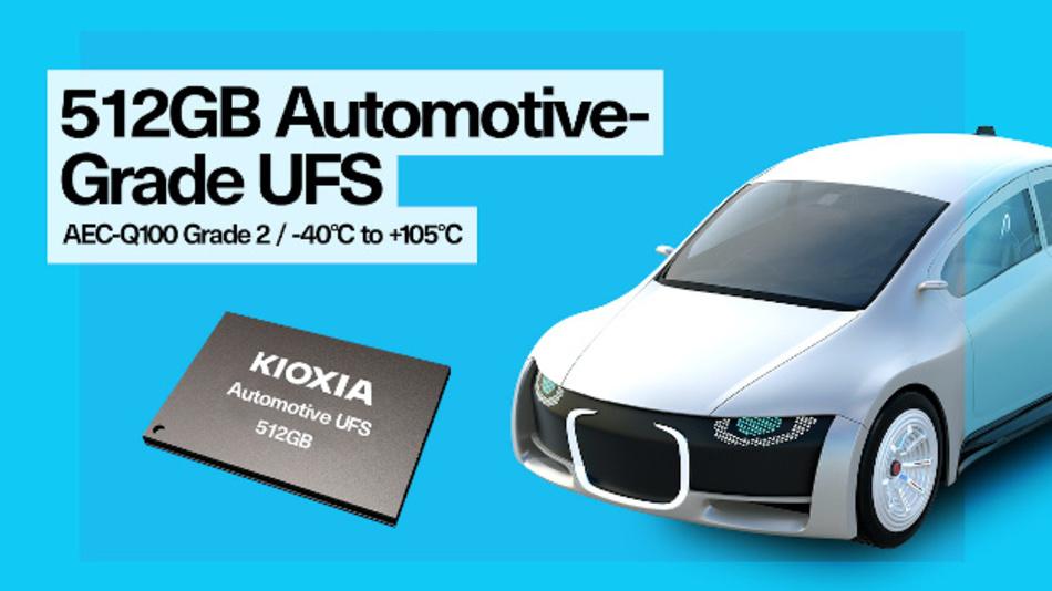 Der 512-GB-UFS adressiert fortschrittliche Infotainment- und ADAS-Systeme.