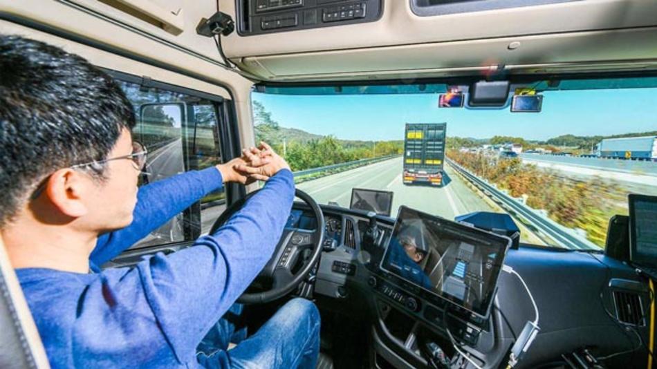 Hyundai arbeitet am automatisierten und vernetzten Lkw.