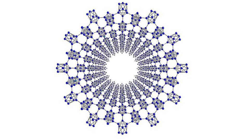 Aus neunatomigen Silizium-Clustern sollten sich auch größere Strukturen aufbauen lassen.