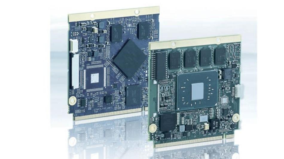 Computermodule bieten große Freiheitsgrade hinsichtlich der Integraton von Prozessoren.