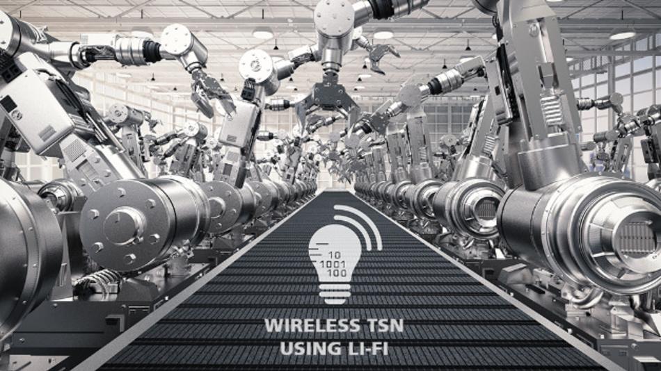Echtzeitfähige Datenübertragung ohne Kabelverbindung ist für mobile Fertigungsroboter und schnell umrüstbare Fertigungszellen relevant.