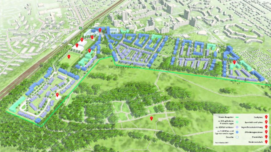 Mit ihrem Mobilitätskonzept will die Toyota Kreditbank die Lebensqualität im neuen Berliner Stadtteil Lichtenfelde nachhaltig verbessern.