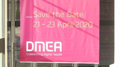 Die DMEA 2020 findet vom 21. bis 23. April in Berlin.