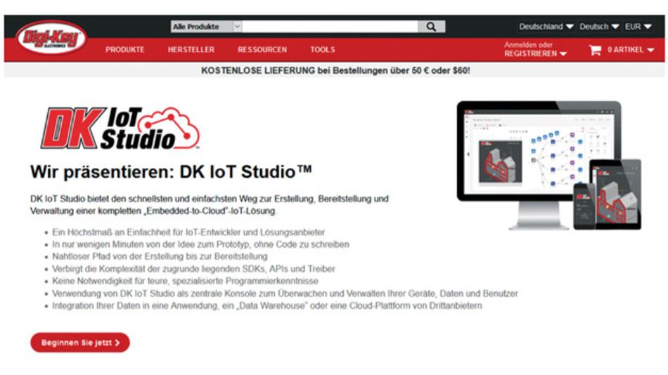 DK IoT Studio von Digi-Key