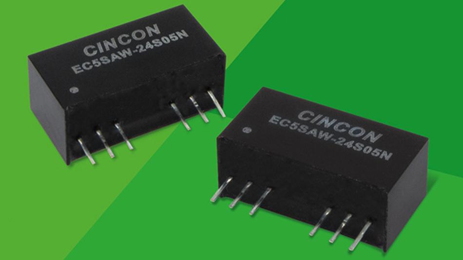 Die DC/DC-Wandler-Serie ist besonders für für energiekritische Systeme geeignet.