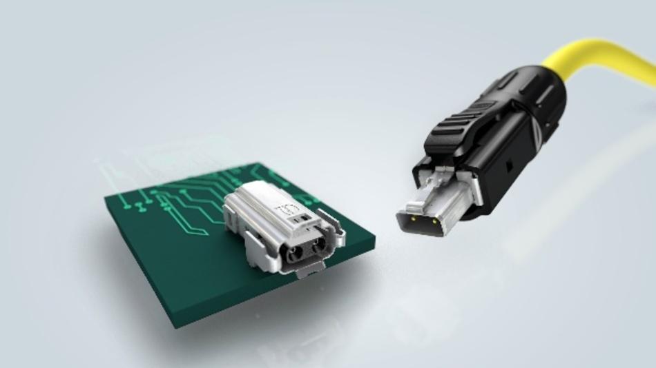 Mit der T1 Industrial Schnittstelle bietet HARTING als erster Hersteller weltweit eine durchgängig genormte Schnittstelle für industrielle M3I3C3E3 Anwendungen an.