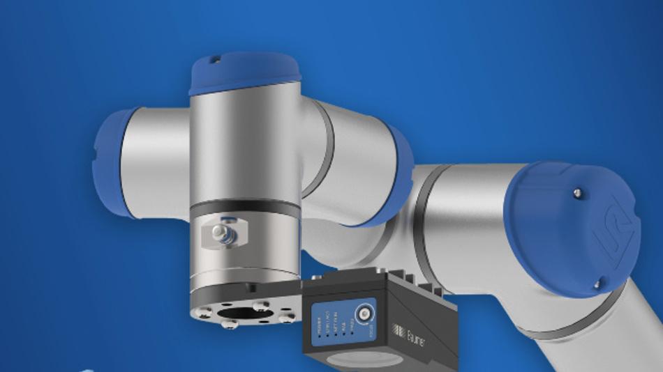 Robotertaugliche Vision-Sensor »VeriSens« von Baumer.