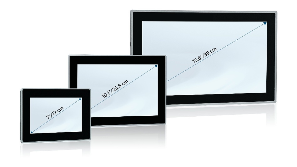 Sowohl die Control- als auch die Web-Panel sind mit einem Gehäuse aus Edelstahl und entweder einem Aluminum- oder Edelstahlrahmen ausgerüstet.