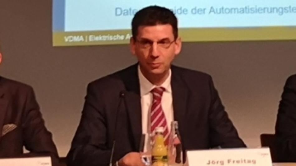 Jörg Freitag, Vorstandsvorsitzender VDMA Elektrische Automation: »Wir rechnen für das Gesamtjahr 2019 mit einem Umsatzminus von 1 Prozent.«