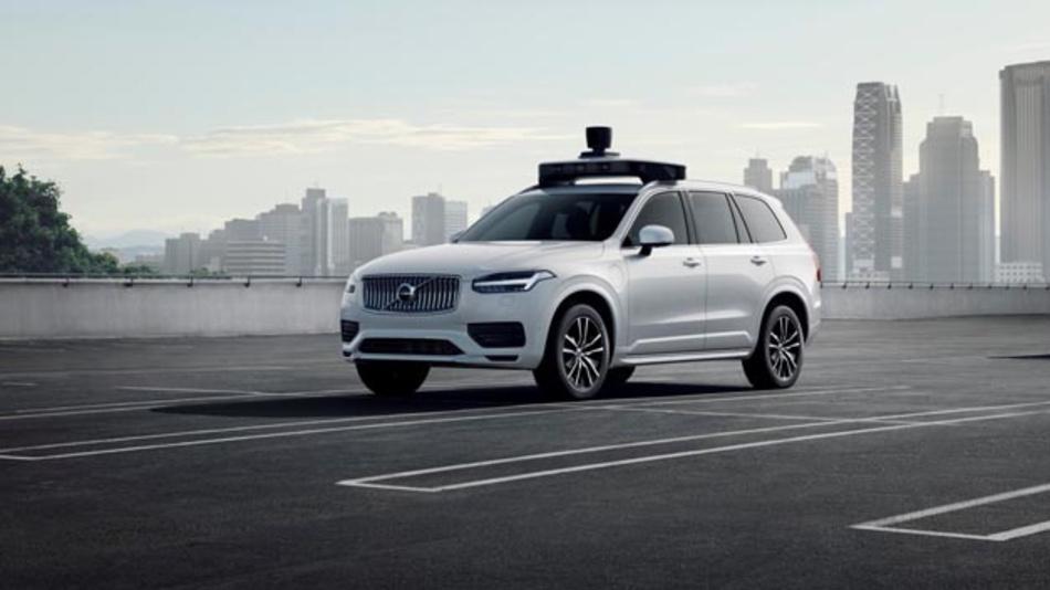 Brose Seitentürantrieb geht beim selbstfahrenden Volvo XC90 für Uber in Serie