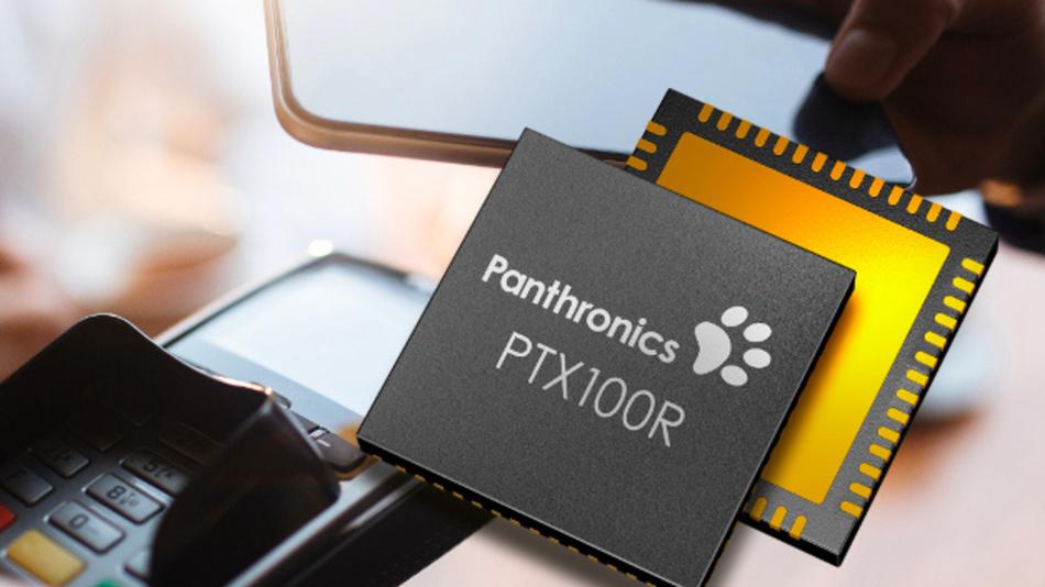 Der NFC-Transceiver-IC PTX100R von der Panthronics AG aus Graz, Österreich, bietet hohe Sendeleistung und Empängerempfindlichkeit.