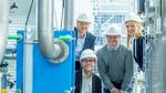 Alexander Tremel, Manfred Baldauf, Peter Wasserscheid und Katharina Meltzer, Erfinder des Jahres 2019 von Siemens